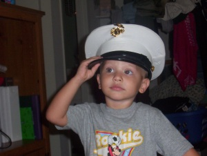 youngest, a marine in the making 2005