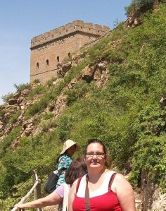 Me at Great Wall in  Simitai, China c 2010