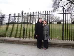 Me and Nassim in DC