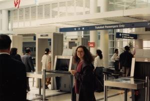 Departing to Hong Kong